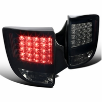 2000-2005 Toyota Celica GT / GTS Euro LED Tail Lights - Black / Smoked