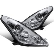 2000-2005 Toyota Celica Replacement Projector Headlights - Chrome