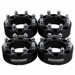 "2000-2006 GMC Sierra 1500HD (8-Lug Only) / 2006-2010 GMC Sierra 2500HD 2WD and 4WD Supreme Suspension 1.5"" PRO Billet Wheel Spacer Set (Set of 4 spacers)"
