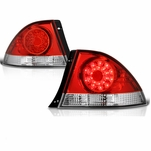 2001-2005 Lexus IS300 Altezza Performance LED Tail Lights - Red Clear
