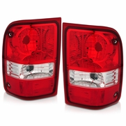 2001-2011 Ford Ranger [Non STX Model] Factory-Style Tail Lights - Red Clear