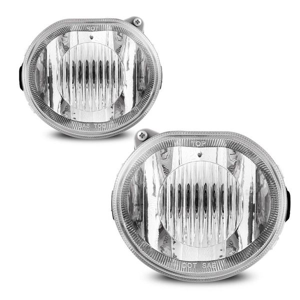 2002-2004 Jeep Liberty Clear Lens Replacement Fog Light