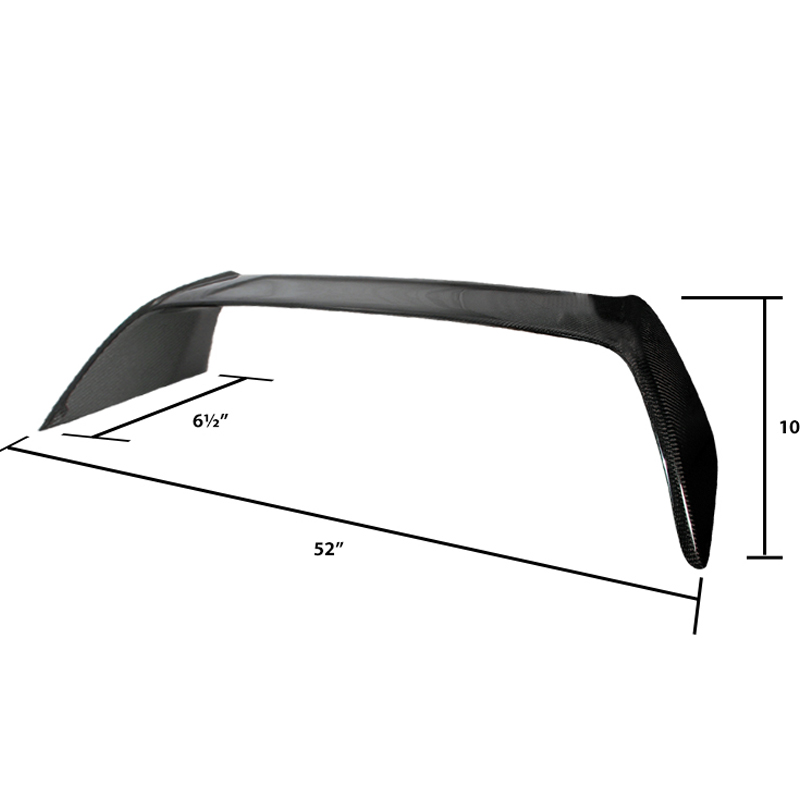 2002-2006 Acura RSX DC5 T-R Style Trunk Spoiler Wing