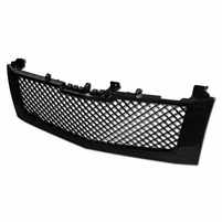 2002-2006 Cadillac Escalade Mesh Front Hood Bumper Grill Grille -Black