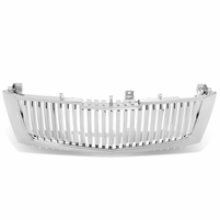 2002-2006 Cadillac Escalade Vertical Style Front Grille Grill - Chrome