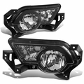 2002-2006 Chevy Avalanche Clear Lens Front Driving Bumper Fog Lights (w/Cladding)