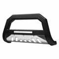 2006-2010 Ford Explorer AVT Aluminum LED Bull Bar - Matte Black