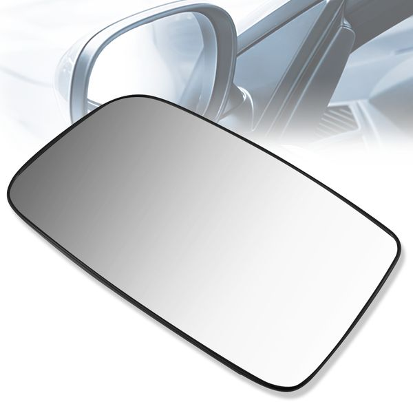 2002-2007 Mitsubishi Lancer OE Style Left Heated Door Mirror Glass