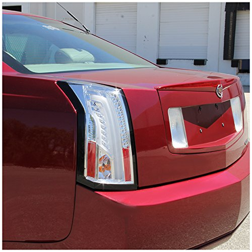 2003-07 Cadillac CTS Optic Style Full LED Tail Lights