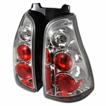 2003-2005 Toyota 4Runner Rear Tail Lights - Chrome