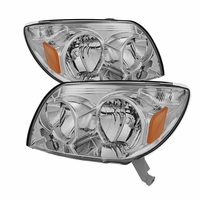 2003-2005 Toyota 4Runner Replacement Crystal Headlights - Chrome