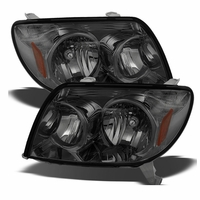 2003-2005 Toyota 4Runner Replacement Crystal Headlights - Smoked