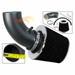 2003-2006 Chrysler PT Cruiser Short Ram Intake Black Pipe With Grey Kit