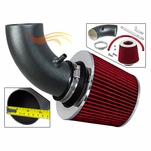 2003-2006 Chrysler PT Cruiser Short Ram Intake Black Pipe With Red Kit