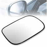 2003-2007 Honda Accord OE Style Right Side View Heated Mirror Glass w/Plate