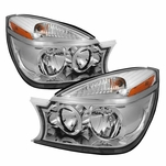2004-2005 Buick Rendezvous Replacement Crystal Headlights - Chrome