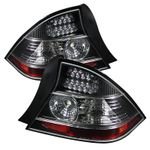 Spyder 2004-2005 Honda Civic 2-Door Coupe Performance LED Tail Lights - Black
