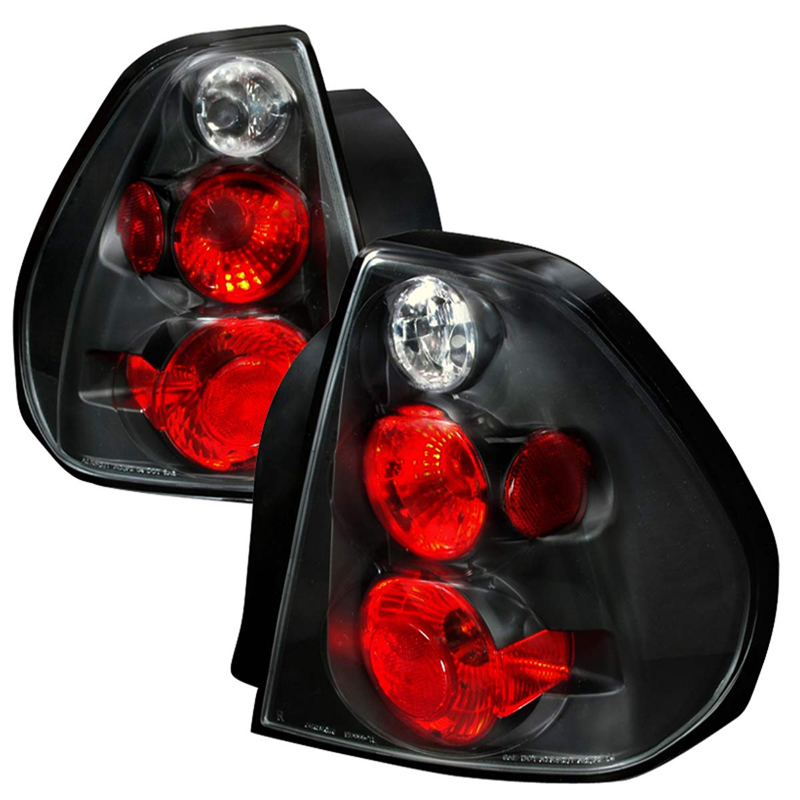 2004 2007 Chevy Malibu Euro Altezza Tail Lights Black Click To Enlarge