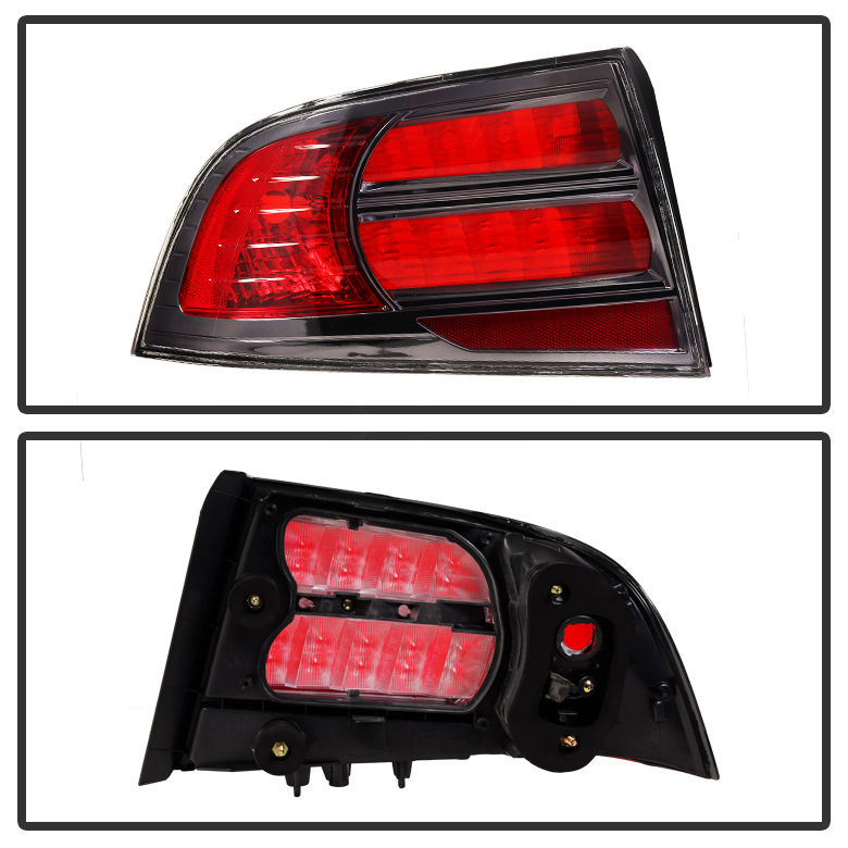 2004-2008 Acura TL Replacement Tail Lights Left + Right