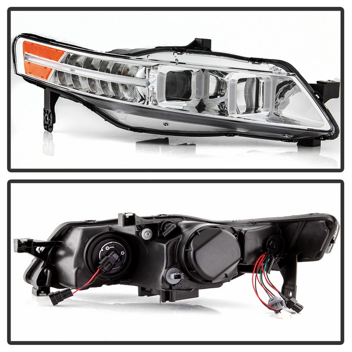 2004-2008 Acura TL W/ LED Signal DRL Projector Headlights