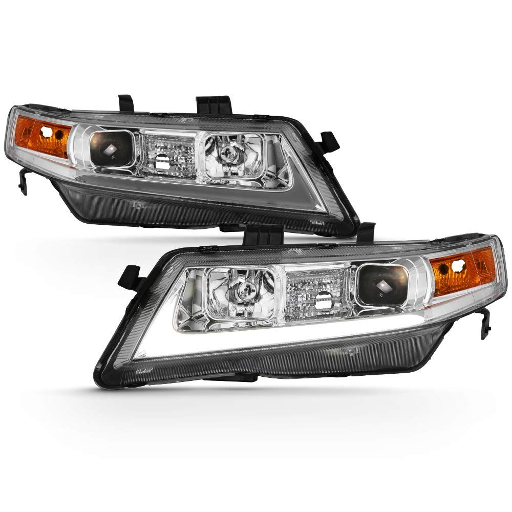 2004-2008 Acura TSX CL9 LED Tube Projector Headlights