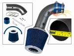 2004-2008 Chevy Aveo Short Ram Intake Black Pipe With Blue Kit