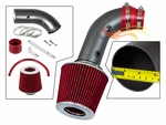2004-2008 Chevy Aveo Short Ram Intake Black Pipe With Red Kit