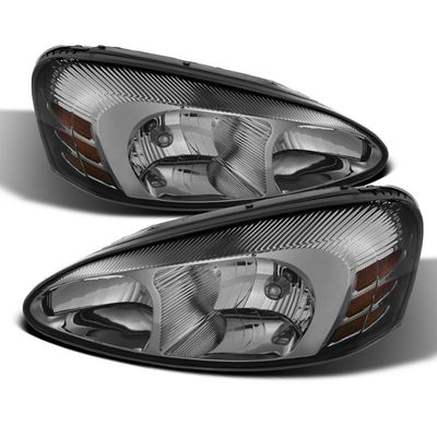 04-08 Pontiac Grand Prix Replacement Headlights - Smoked