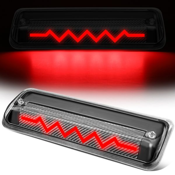 2004-2010 Ford F150 Explorer Sequential Heart Rate LED Carbon 3rd Third Brake Light