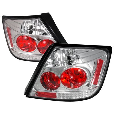 2004-2010 Scion tC JDM Style Altezza Tail Lights - Chrome