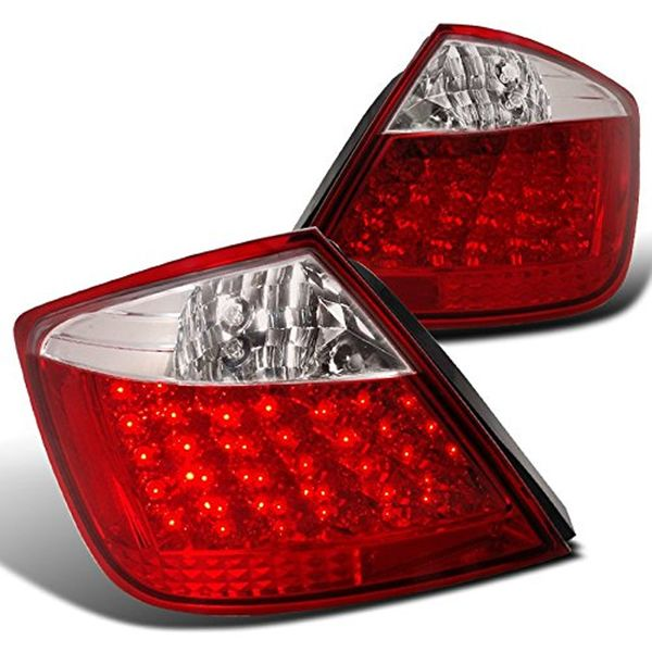 2004-2010 Scion tC Performance LED Tail Lights - Red/Clear