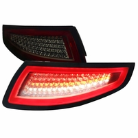 2005-08 Porsche Carrera 997 911 LED Tail Lights - Red Smoked