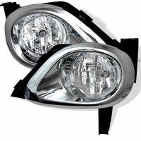 2005-2006 Honda CRV Front Bumper Fog Lights Kit - Clear