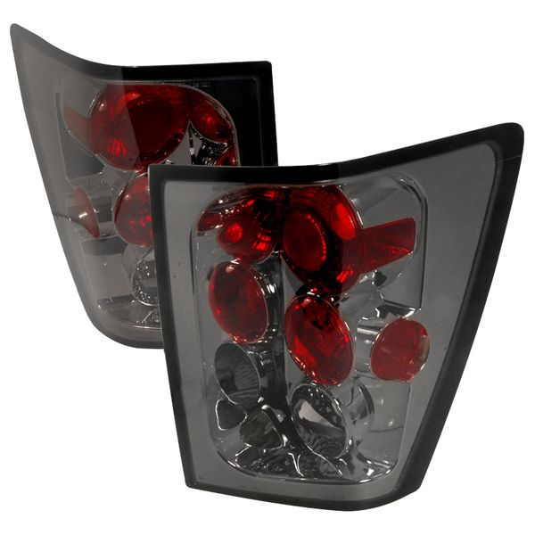 2005-2006 Jeep Grand Cherokee Euro Style Altezza Tail Lights - Smoked