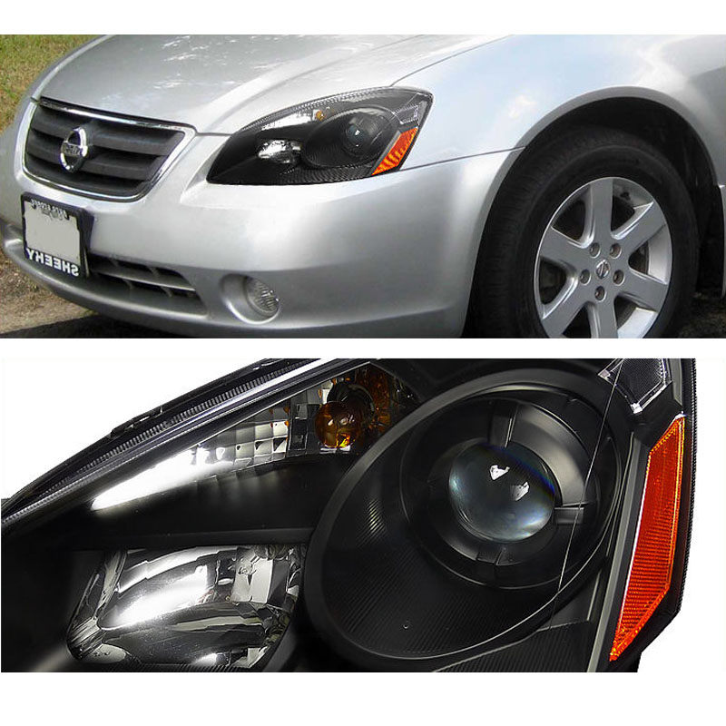 Headlights For 2006 Nissan Altima: 2005-2006 Nissan Altima DEPO Replacement Projector