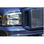 2005-2007 Ford F250 Superduty Euro Style Front Grille Grill