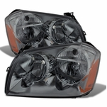 2005-2007 Dodge Magnum Replacement Crystal Headlights - Smoked