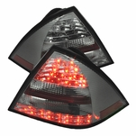 2005-2007 Mercedes Benz C-Class W203 Euro Style LED Tail Lights - Smoked
