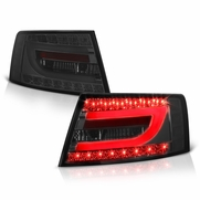 2005-2008 Audi A6 / S6 Performance LED Neon Tube Tail Lights - Smoked