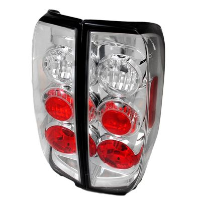 05-14 Nissan Frontier / 09-12 Suzuki Equator Rear Altezza Tail Lights - Chrome