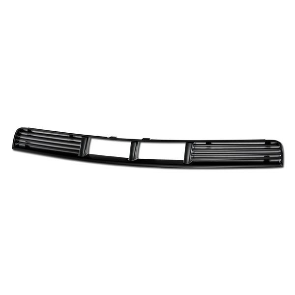 2005-2009 Ford Mustang Horizontal Front Lower Bumper Grille - Matte Black