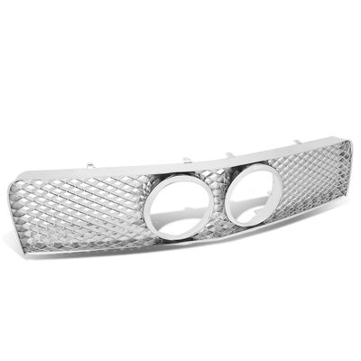 05-09 Ford Mustang [GT Model Only] Front Bumper Grill Diamond Mesh - Chrome