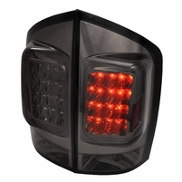 2005-2012 Nissan Armada Euro Style LED Tail Lights - Red / Smoked