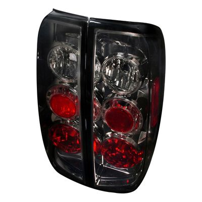 05-14 Nissan Frontier / 09-12 Suzuki Equator Rear Altezza Tail Lights - Smoked