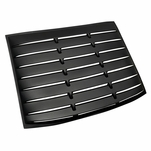 2005-2014 Mustang Matte Black ABS Rear Back Window Louver Cover