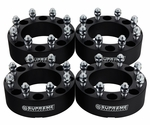 Supreme Suspension FDF205WS2020 2005-2019 Ford F-250 Super Duty 2WD and 4WD Set of 4 spacers Wheel Spacers