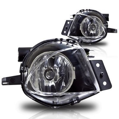 06-08 BMW E90 3-Series Sedan OEM Style Replacement Fog Lights - Clear