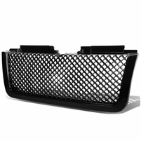 2006-2009 Chevy Trailblazer LT Diamond Mesh Front Hood Grill - Black
