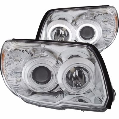 2006-2009 Toyota 4Runner CCFL Halo Projector Headlights - Chrome