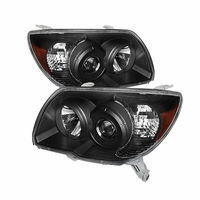 2006-2009 Toyota 4Runner [Non Sport Only] Euro Style Projector Headlights - Black